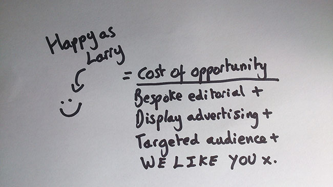 larry Why the entertainment industry needs content strategy